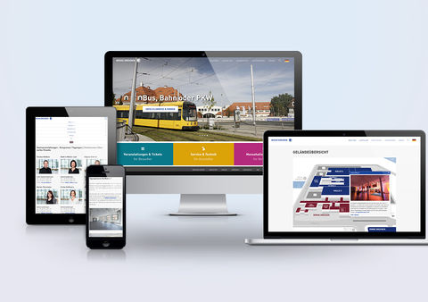 Neue Website Messe Dresden