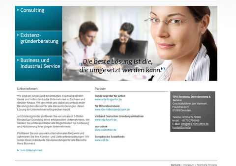 Launch Website TiPA-consulting